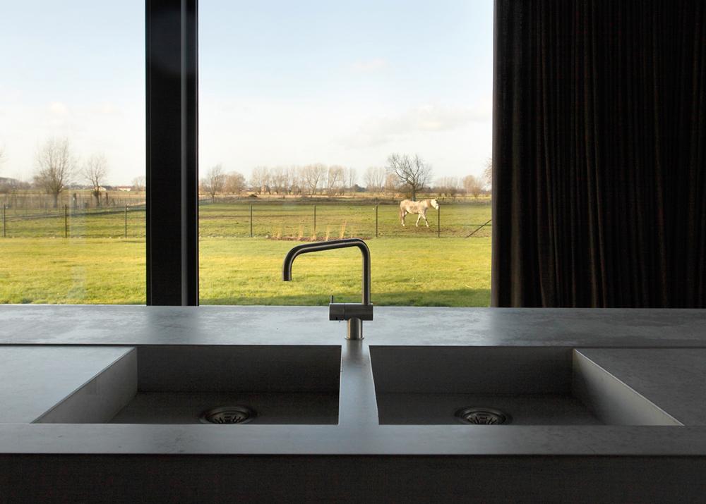 Beton Keuken Stoere : Stoere keuken met betonnen aanrechtblad tekoop unieke